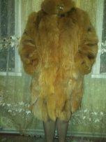 Продам шубу з натурального хутра лисиці розмір 54
