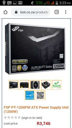 FSP Aurum Pro 1200W Power Supply Unit2 module