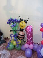 Шарики,Букеты, игрушки из воздушных шаров
