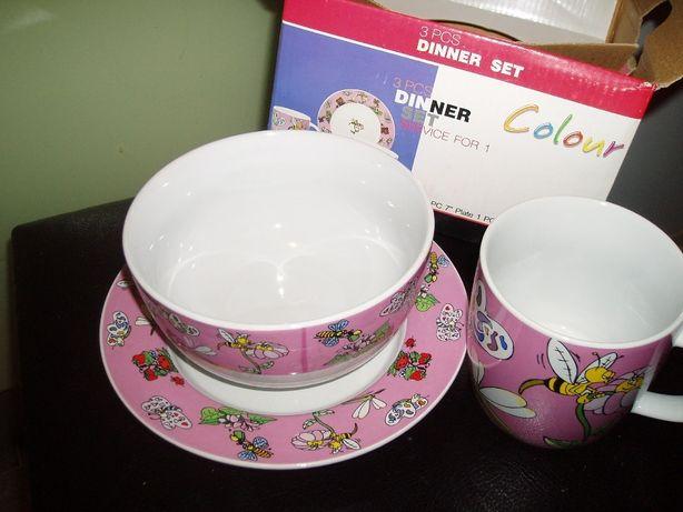 Посуда детская керамическая