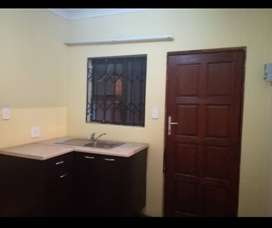 1 bedroom/ bachelor, kitchen and own own private bathroom