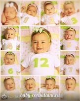 Набор цифр для фотосессии ребёнку для первого года,подарок на выписку