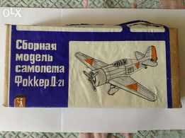 Сборная модель самолета Фоккер Д-21