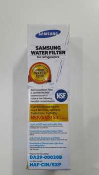 Image of Samsung French door internal water filter