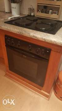 Image of Defy Slimline 600S electric oven and 4burners for sale
