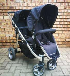 Double Trouble Comfort Delux Twin Travel System