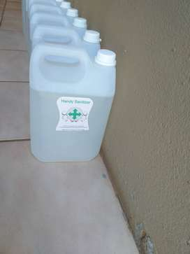 Hand Sanitizer and Cleaning Chemicals forsale