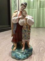 """Фарфоровая статуэтка, персонажи """"ночь перед Рождеством"""""""