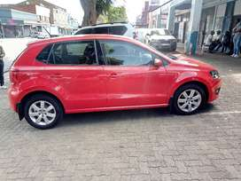 RED VW POLO-6 1.4 HATCH BACK
