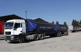 SIDETIPPER TRUCKS FOR HIRE 34 TONs