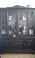 meble do salonu/gabinetu kredens witryna stół krzesła gratis SWARZĘDZ