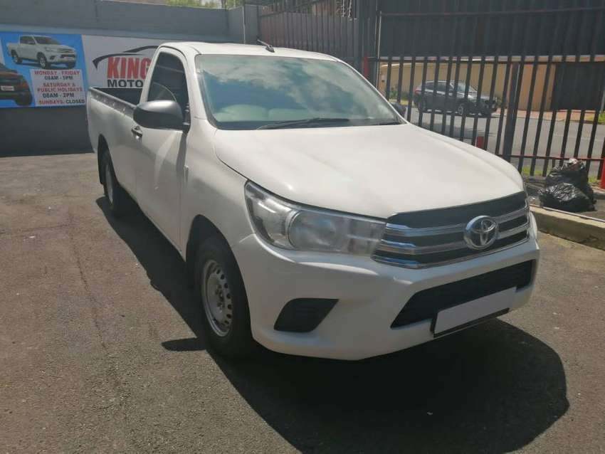 2019 Toyota Hilux 2.4 GD6 Single cab 0