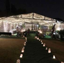 Clear Frame Tents for Hire