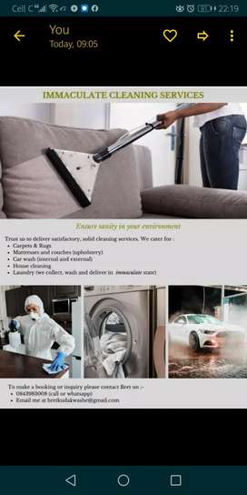 Immaculate Cleaning services
