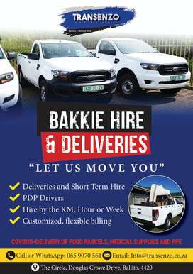 Bakkie Hire & Deliveries