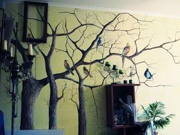 Роспись стен, мебели,написание картин, декорирование на заказ!