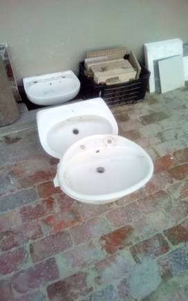 3 X Basins for sale