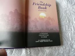 The friendship book of Francis Gay. A thought for each day in 2008