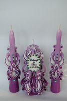резные свечи - лучшие подарки на свадьбу, юбилей и для души