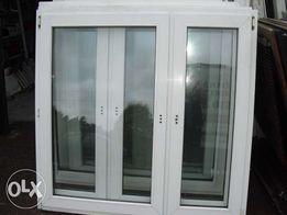 Okna Pcv 1470x1430 z Demontażu z Niemiec !
