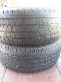 Image of 2xContinental Cross Contact LX tyres 265/60/18,As new!!