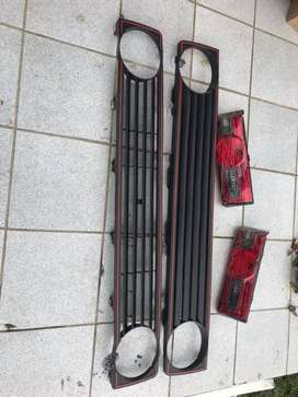 Golf 1 fan, rear lights and Grill for sale