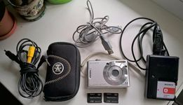 Цифровой фотоаппарат SONY Cyber-Shot DSC-W35, 7,2 Мп, 3-х кратный зум