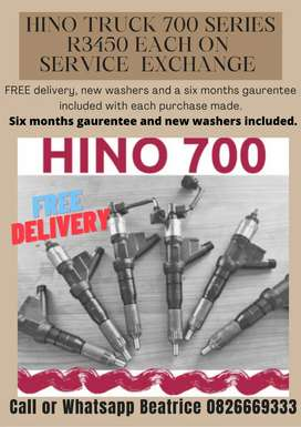 Hino 700 Truck series injectors for sale