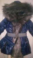 Зимнее пальто (куртка) для девочки. Размеры 28-38. Акционная цена!!!