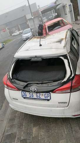 Toyota Yaris code 4 selling as spares