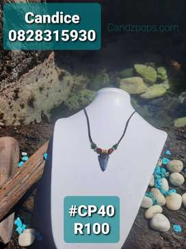 Fossilized Shark Teeth Necklaces