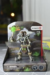 Schleich Шляйх каменный скелет с оружием Новинка 2018 серия Eldrador