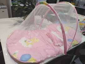 Brand New Baby Summer Mosquito Net Bed- Portable Crib