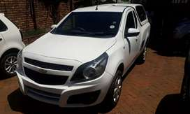2013  Chevrolet  bakkie 1.4 with canopy