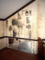 Роспись стен в квартире, офисе,кафе