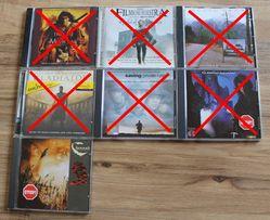 Płyty kompaktowe cd muzyka różne metal rock gothic muzyka filmowa
