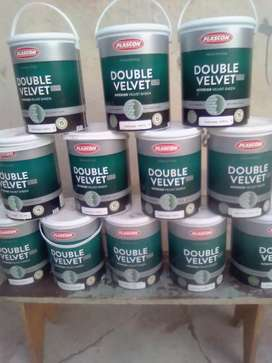 Double velvet paint  5litres only