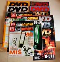 Czasopismo DVD,kino domowe z lat2000