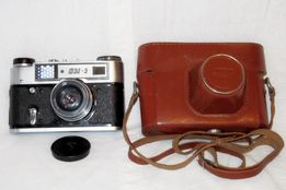 Продам фотоаппарат ФЭД-5 с футляром из натур.кожи в отличном состоянии