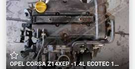 2005 opel combo  engine z14xep for sale