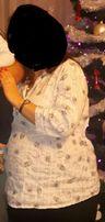 Bluzka koszulowa koszula ciążowa elegancka xxl 44