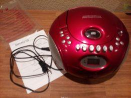 Bravis USB/MP3/CD/AM/FM плеер бумбокс