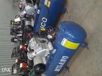 Electric and petrol Air compressors. 0
