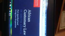 African Customary Law electronic book