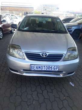 For Sale: 2004 Toyota Corolla Engine1.4,87000km
