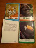 Набор открыток «Посещение зоопарка» («NAVSTEVA V ZOO - I, II, III»)