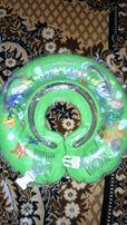 Надувной круг для купания Delfin