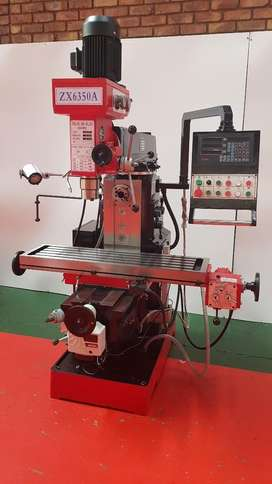 New milling machine ZX6350A