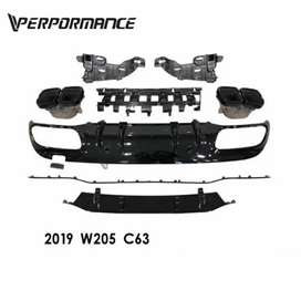 2020 W205 AMG diffuser for 2015 - 2019 C43 & C63 AMG