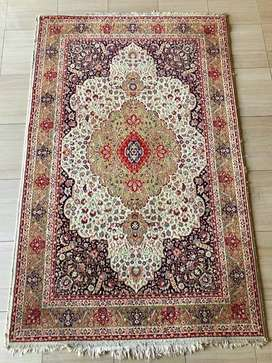 Red Persian Patterned Rug